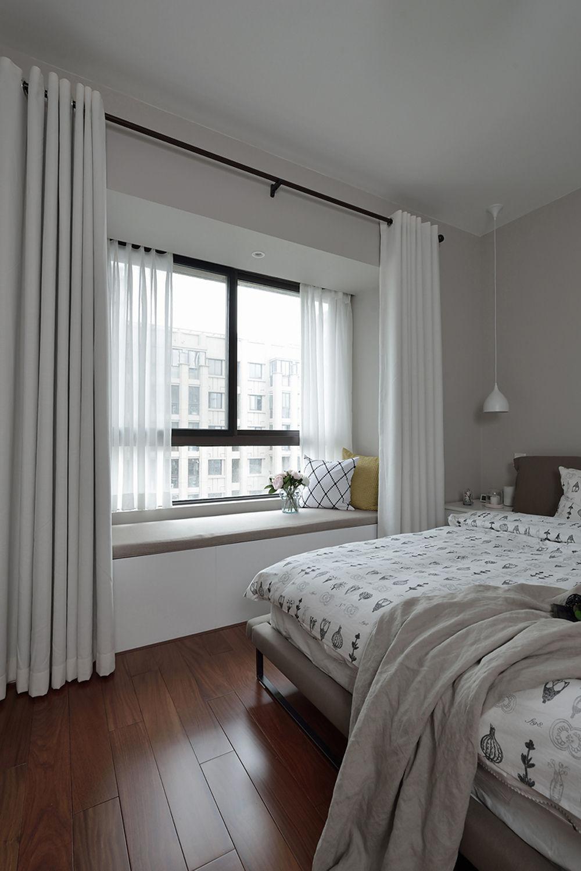 北欧风格两居室飘窗装修效果图
