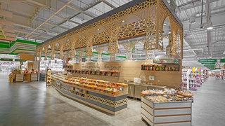 食品超市大卖场装修效果图