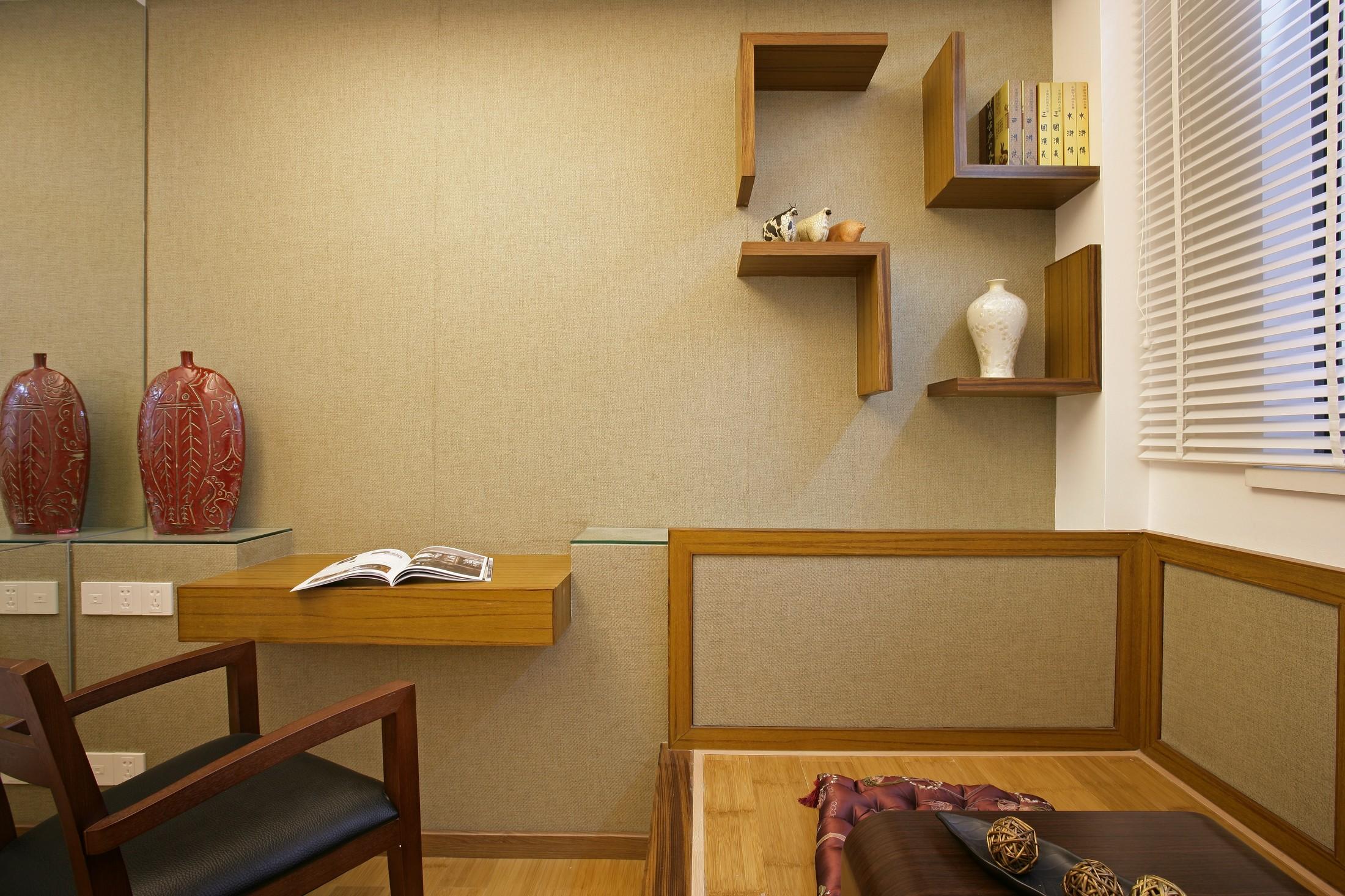 三居室中式风格书房装修效果图