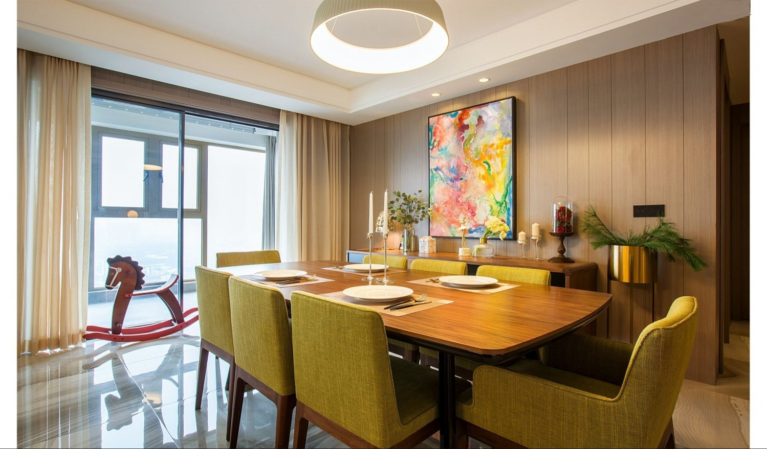 188平现代风格餐厅每日首存送20