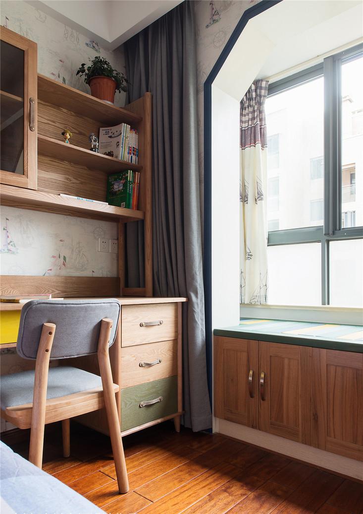130平米新中式飘窗装修效果图