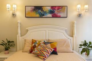 110㎡美式风格卧室装修效果图