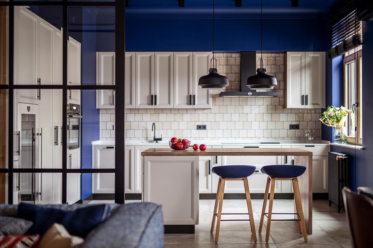 大户型公寓厨房装修效果图