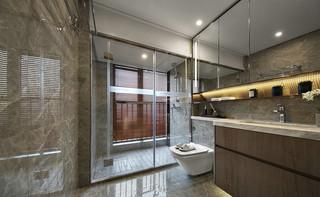 现代中式三居卫生间装修效果图