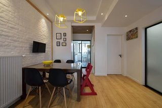 简约风格二居室餐厅装修效果图