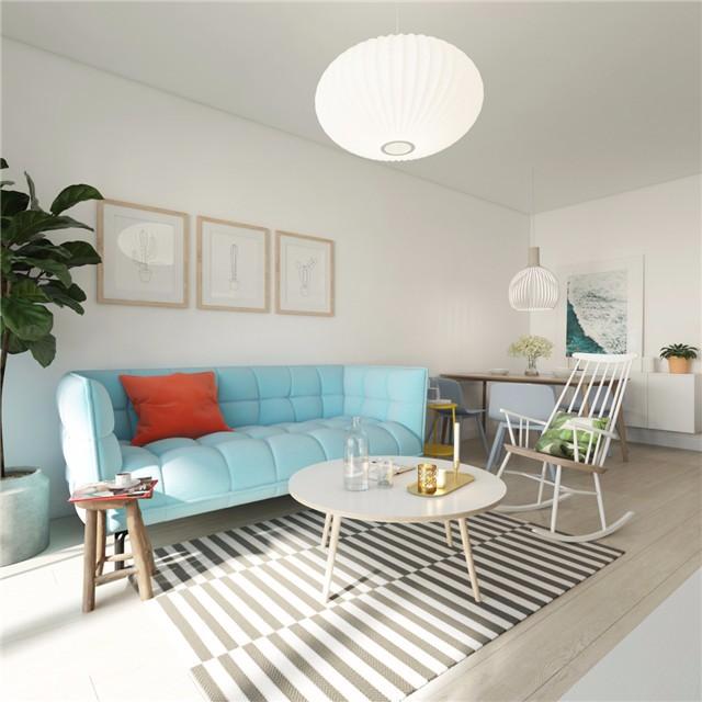一居室小户型简约风装修效果图