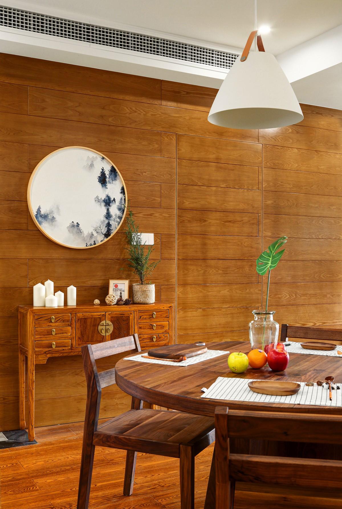 三居室北欧风格隐形门装修效果图