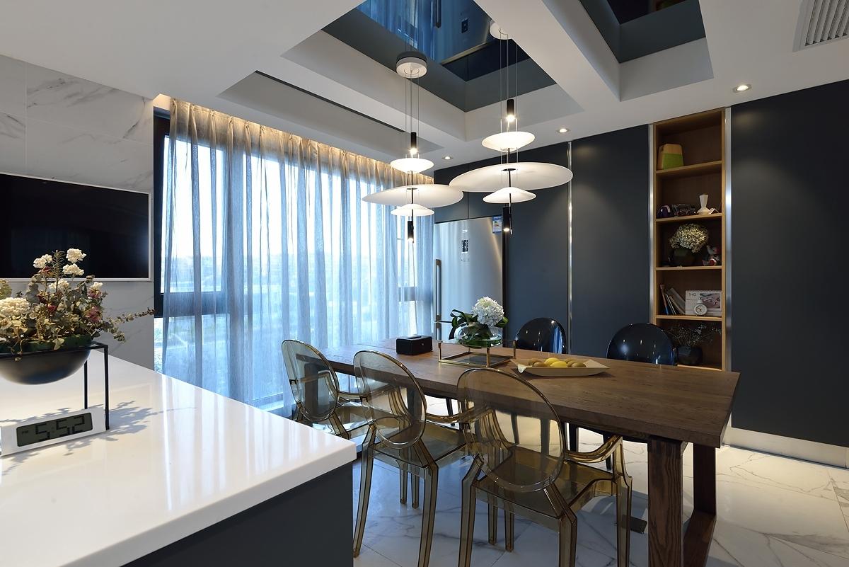 200平现代风格餐厅装修效果图