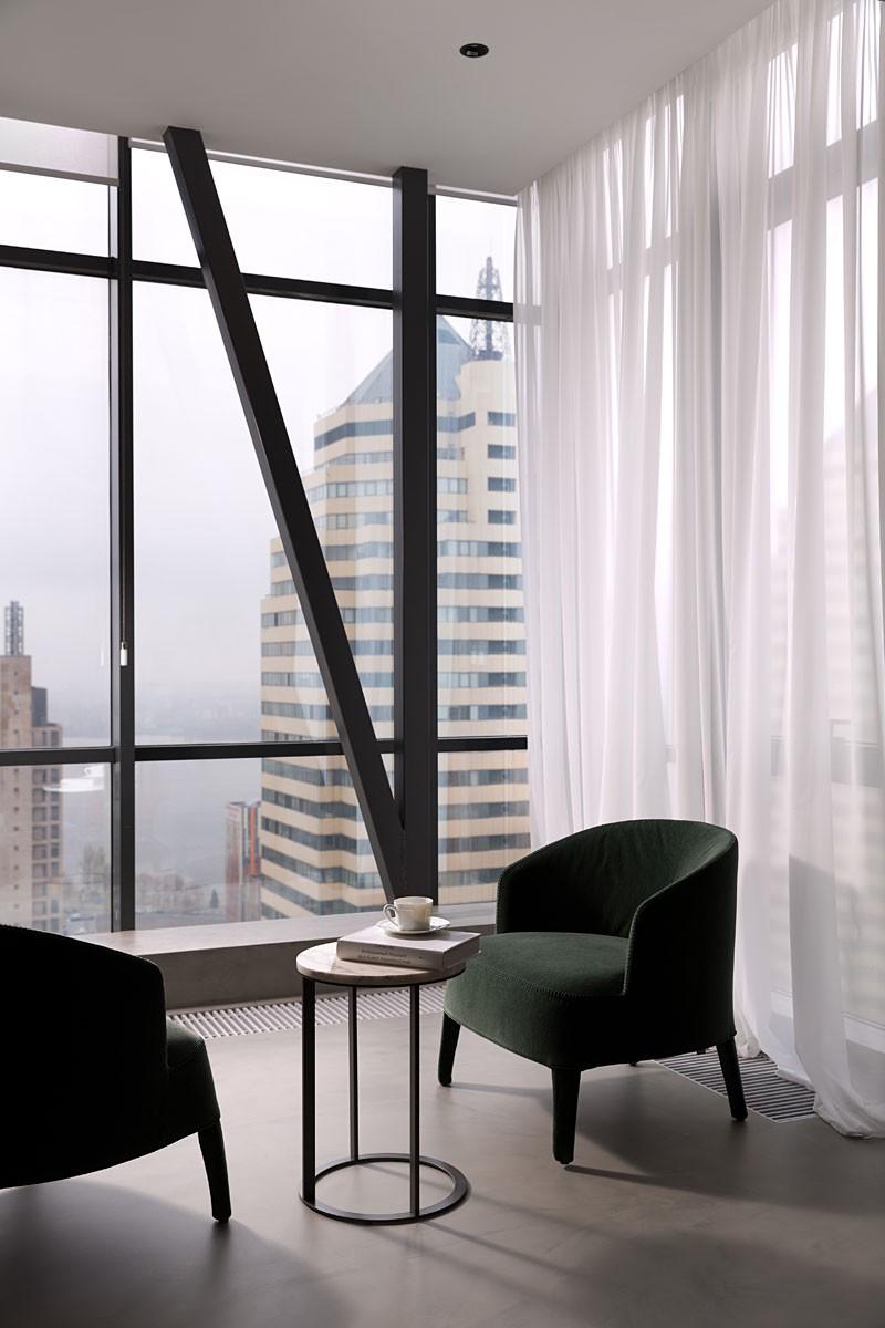 时尚现代公寓阳台装修效果图