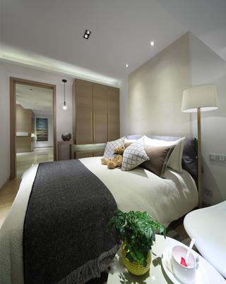 二居室现代简约卧室每日首存送20