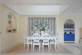 地中海风格别墅餐厅装修效果图