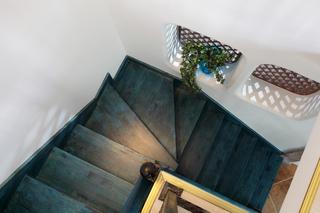混搭风格二居楼梯装修效果图