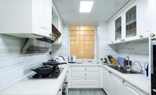 120㎡美式风格三居厨房装修效果图