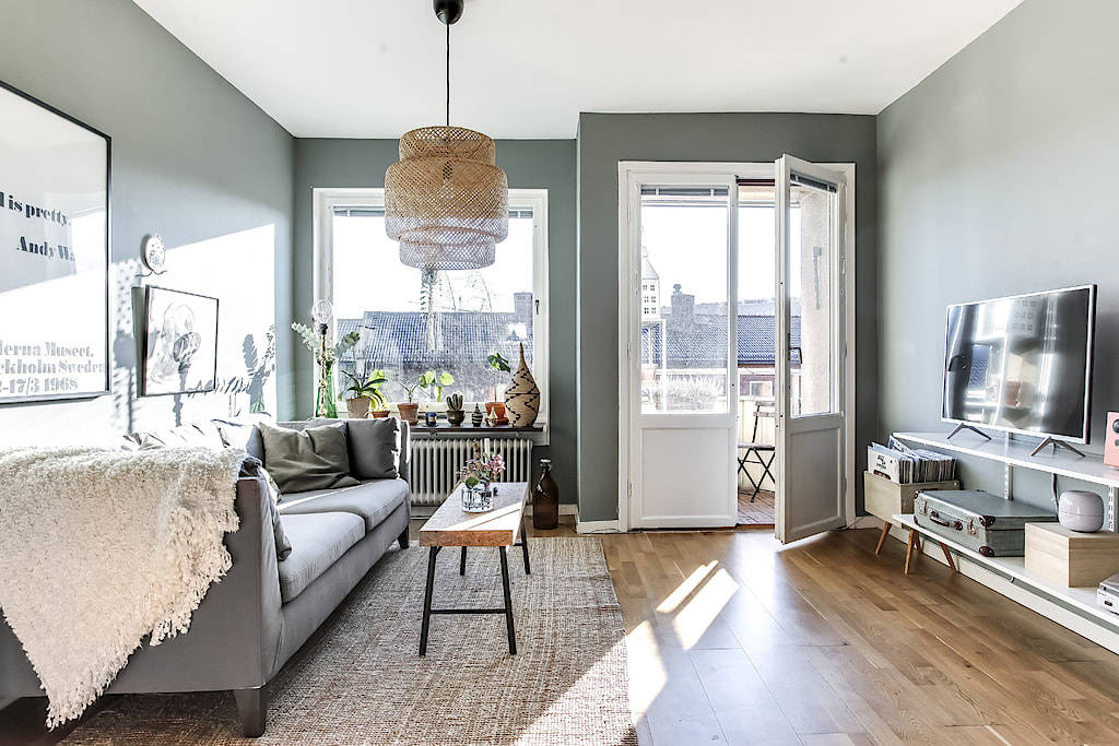 小户型公寓客厅装修效果图