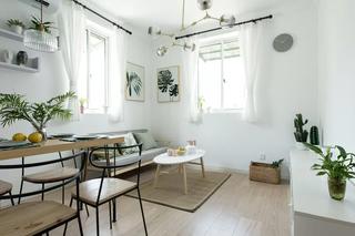 小户型二居室客厅装修效果图