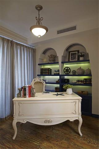 地中海风格四居室书房装修效果图