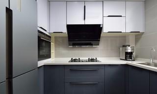 现代简约风格两居室厨房装修设计图