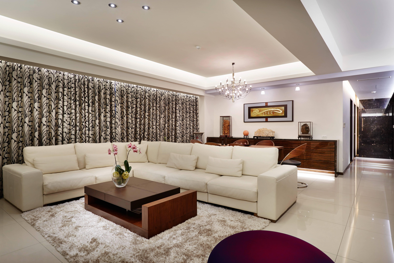 时尚新古典风格装修沙发布置图