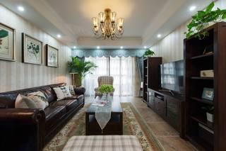 139㎡美式风格客厅装修效果图