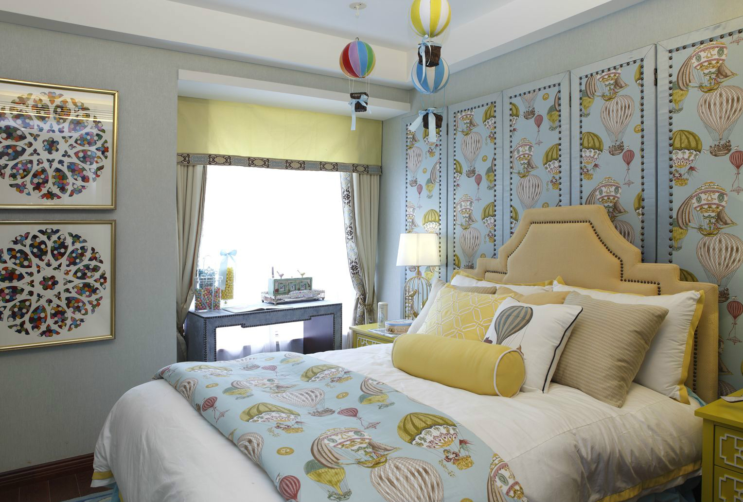 新中式风格别墅儿童房装修效果图