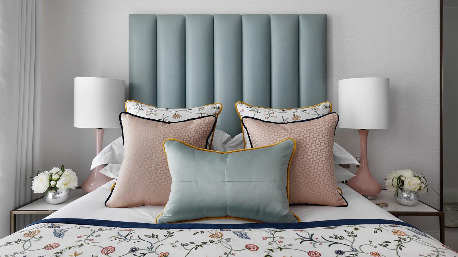 优雅英式公寓卧室装修效果图