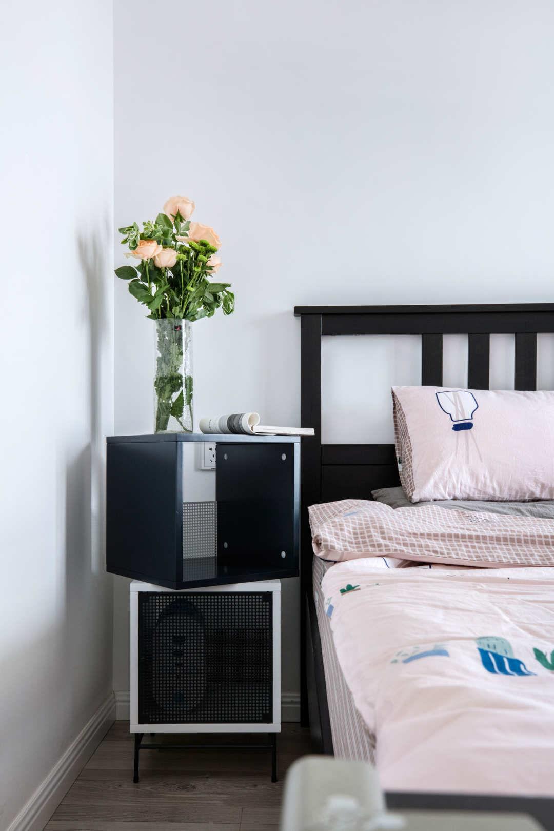 北欧风格两居室卧室装修设计图