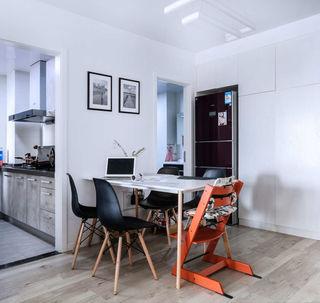 北欧风格两居室餐厅装修设计图