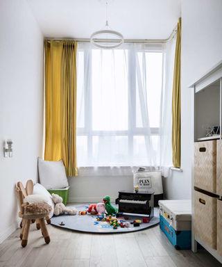 北欧风格两居室儿童房装修设计图