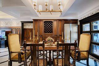 美式新古典风格餐厅装修效果图