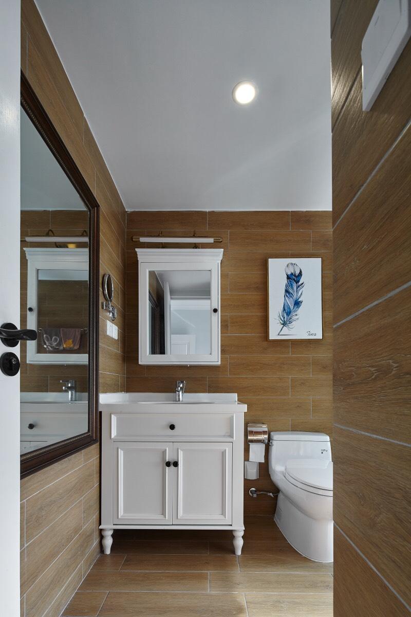 大户型现代简美风卫生间装修效果图