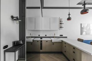 49㎡小户型公寓厨房装修效果图