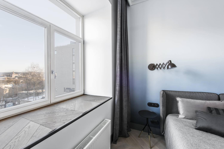 49㎡小户型公寓飘窗装修效果图