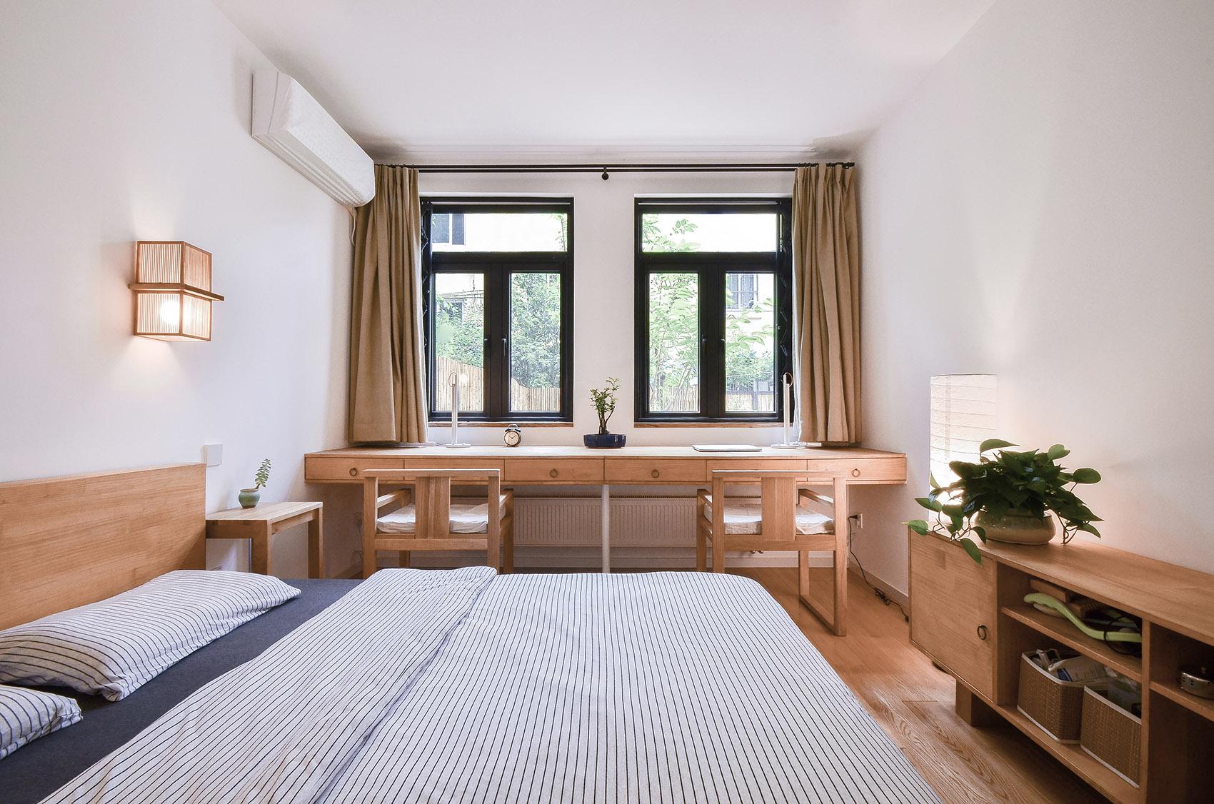 小户型简约中式风卧室装修效果图