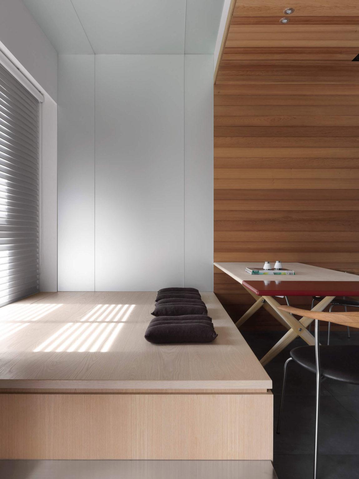 现代公寓榻榻米装修设计效果图