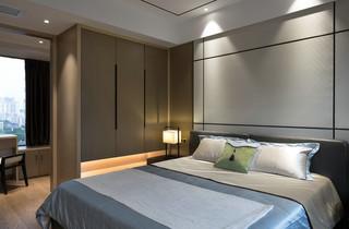 130㎡现代中式风格卧室装修效果图