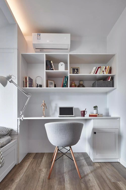 北欧风二居室书桌装修效果图