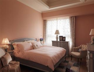 132平米美式风格卧室装修效果图