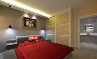 93㎡现代简约风格卧室装修效果图