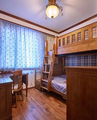 三居室美式乡村风格儿童房装修效果图