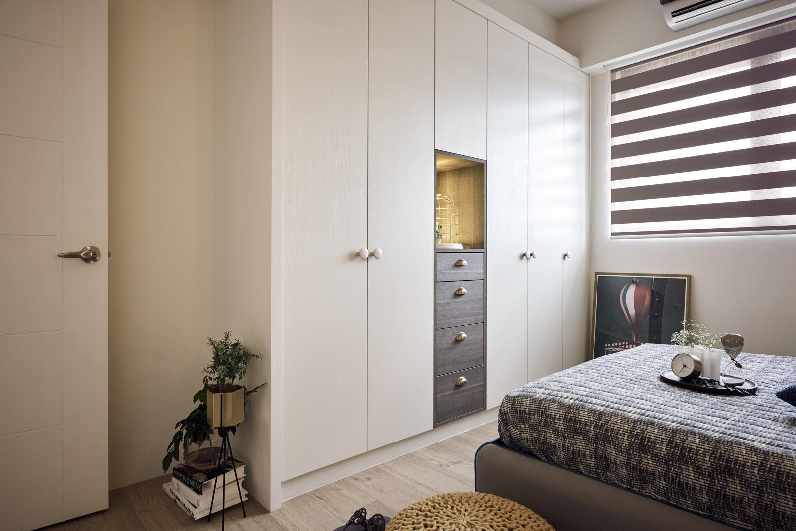 大户型北欧风格装修衣柜设计效果图