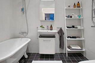 54㎡北欧风公寓卫生间装修效果图
