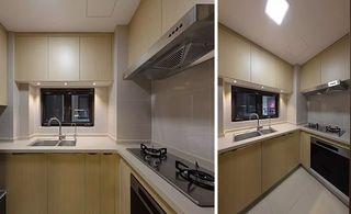 现代简约两居厨房装修设计图