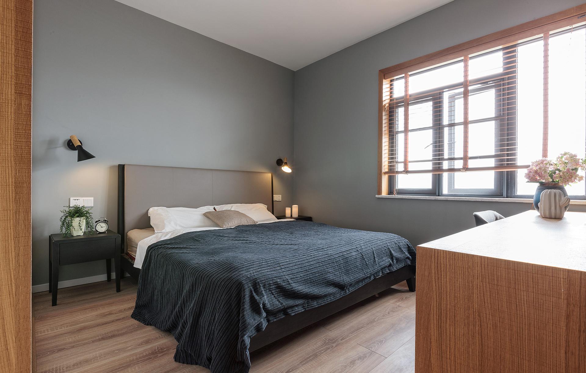 180㎡现代简约卧室装修效果图