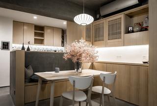 三居室日式风格餐厅装修效果图