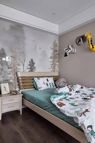 135平米三居室儿童房装修效果图