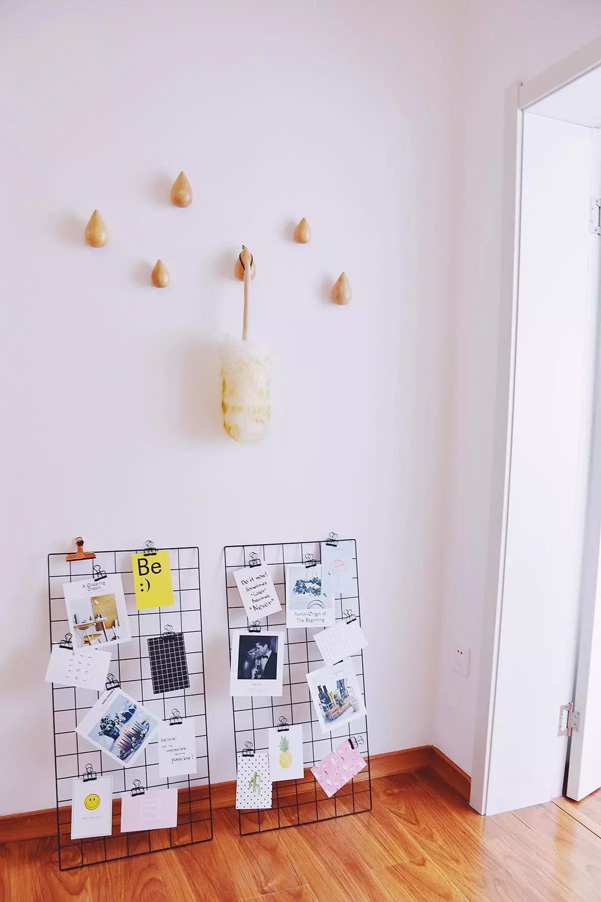小户型北欧公寓墙面装修效果图