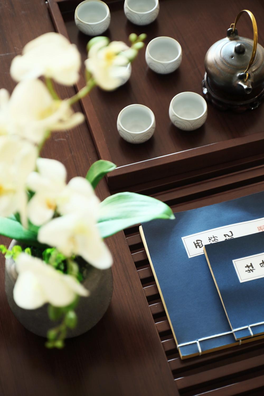 120平米新中式风格装修茶几小景