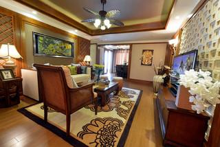 东南亚风格三居装修效果图