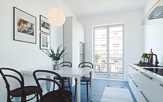 简约小户型公寓餐厅装修效果图
