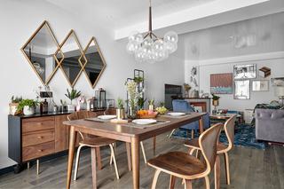 混搭三居室餐厅装修设计效果图